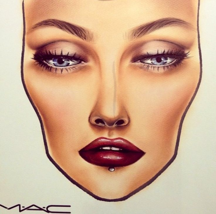 Mac face chart                                                                                                                                                     More