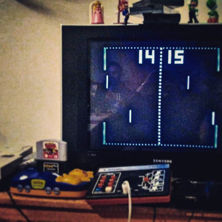 On instagram by forty2sk #retrogaming #microhobbit (o) http://ift.tt/24eONNc! #pong #justpong #retro