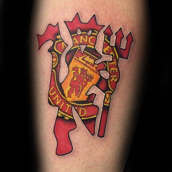 40 Manchester United Tattoo Designs For Men Soccer Ideas Tattoo Designs Men Tattoos Tattoo Designs