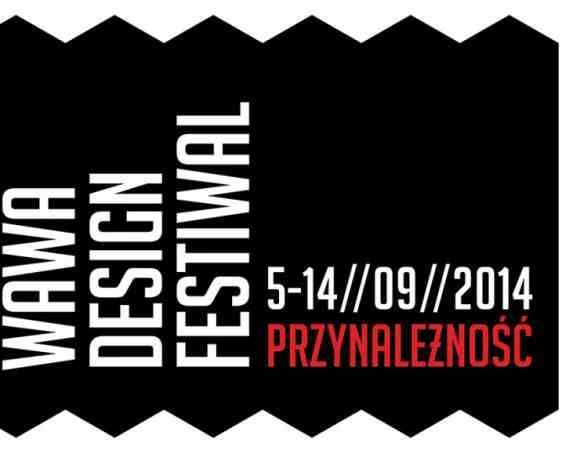 Ogłaszamy naszą współpracę z Wawa Design Festival. - V edycja wzorów odbędzie się w  ramach tego festiwalu.