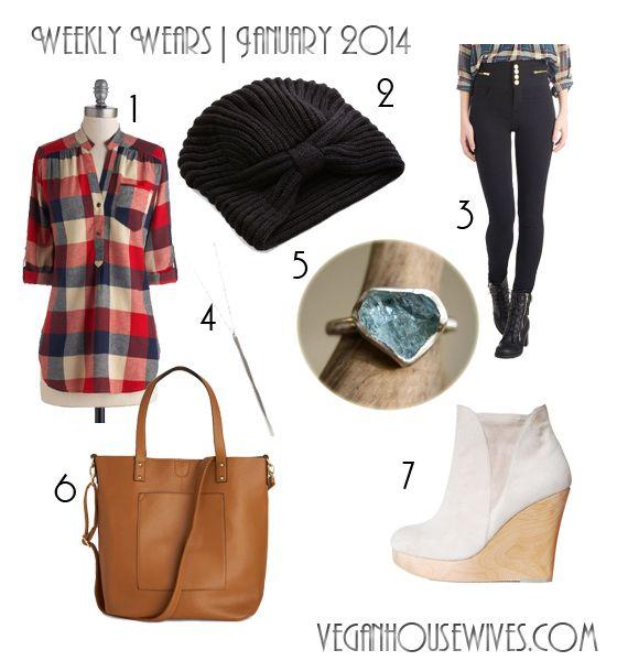 Vegan Fashion   Weekly Wears: Simplicity   Flannel