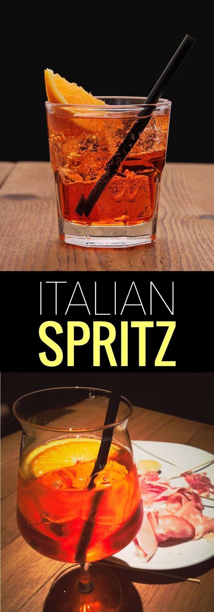25 best ideas about cocktail italien on pinterest for Cocktail spritz