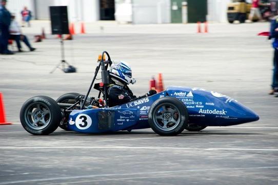 UC Davis Formula Hybrid Competition Cars