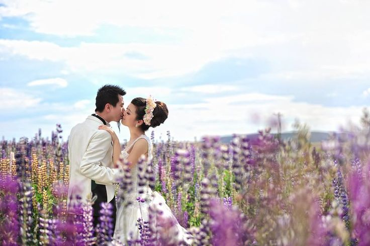 New Zealand neundeyo voted as one of the most #beautiful places to get married in the world, among them was the #wedding #photography pick the #romantic places in the South Island