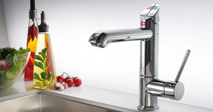 Zip HydroTap >>> Instant filtered boiling and filtered chilled water. This model also includes a mixer connected to standard Hot and Cold water - no need for cluttering your sink with two taps! Zip have also just released a Sparkling tap as well.