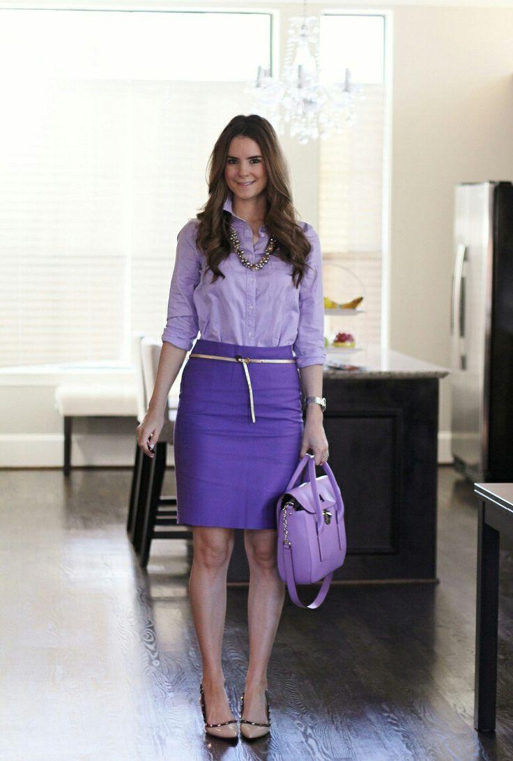 Lila hose outfit
