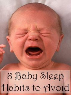 """Another pinner said """"Eight common practices that cause problems sleeping through the night, and how to avoid them. hey New mommies out there PIN THIS!! This is exactly how I have put my baby to sleep, she is 18 mos now and she practically puts her self to bed."""""""