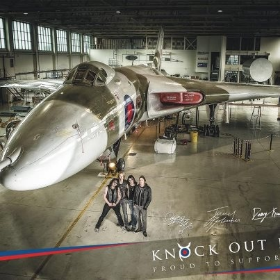 Vulcan Rocks will see British rockers Knock out Kaine playing to a select group of 80 supporters and filming the video to their single under the wings of #XH558. All proceeds from digital downloads will be donated to the Vulcan!