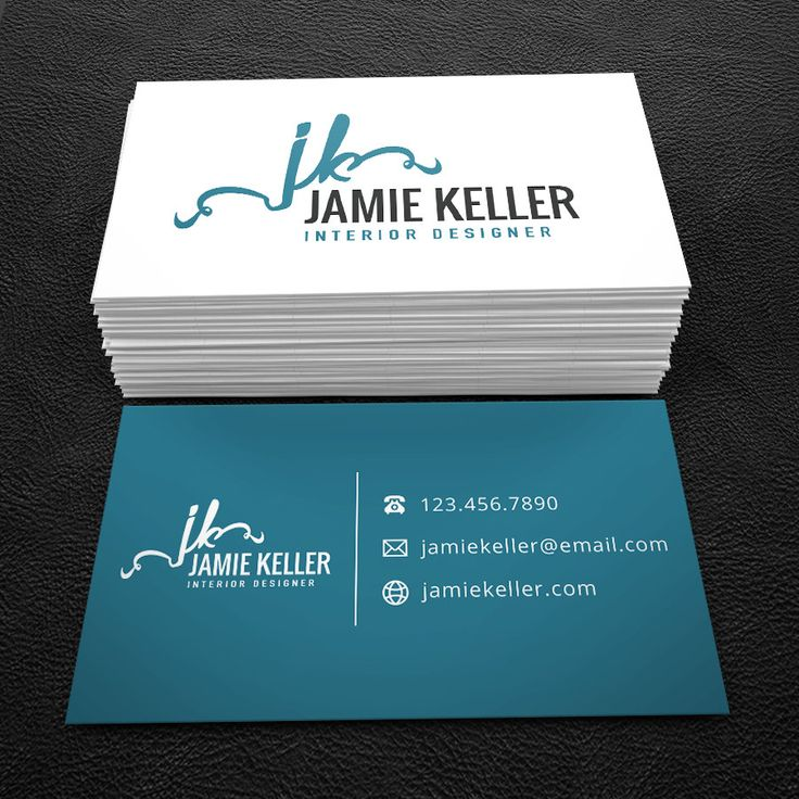Really Neat Premade Business Card Design