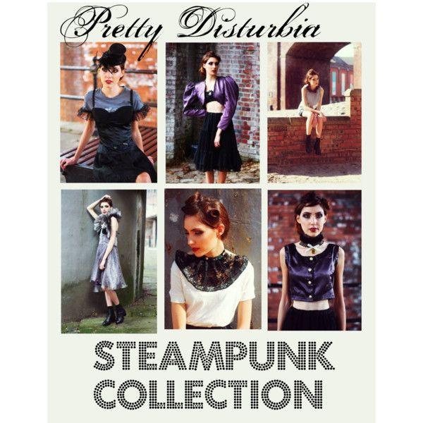 Pretty Disturbia steampunk inspired collection