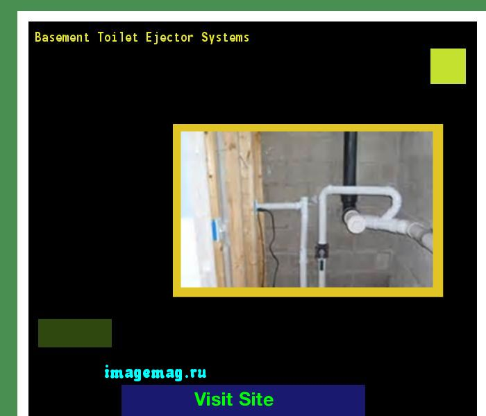 Basement Toilet Ejector Systems 155747 - The Best Image Search