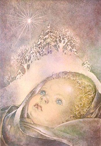 Weihnachtsbilder - Elfen & Boeken