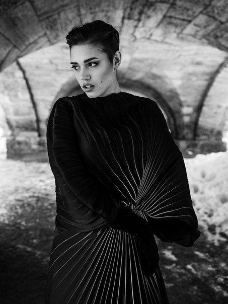 PH: Maxim Baev   MODEL: Sonya   STYLE: Victoria Gogh   MUA: Polina Lopatina