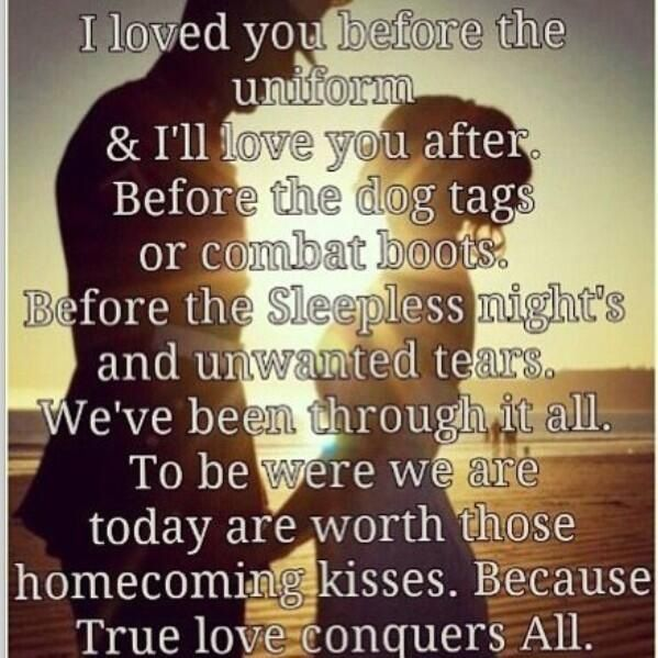 Military Love Quotes For Him: Military Couples.not Wanted But Cute.