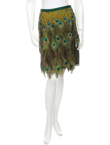 Peacock Feather Skirt 106