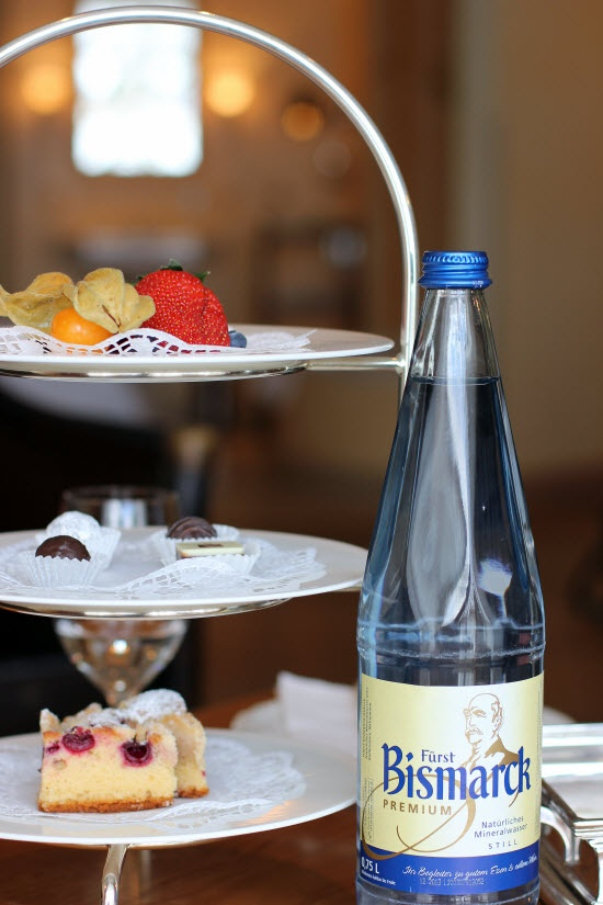 Welcome snack @ 5-star Spa Hotel Alter Meierhof, Flensborg