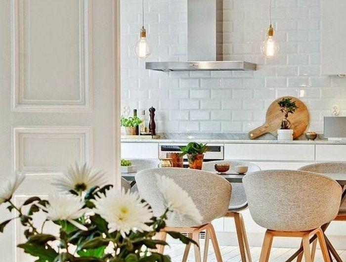 Les Meilleures Idées De La Catégorie Chaise Scandinave Pas Cher - Salle a manger complete cdiscount pour idees de deco de cuisine
