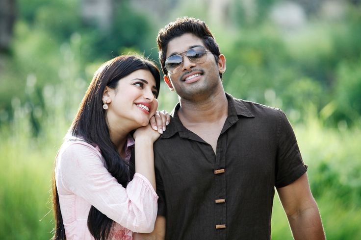 allu arjun with shruti hassan