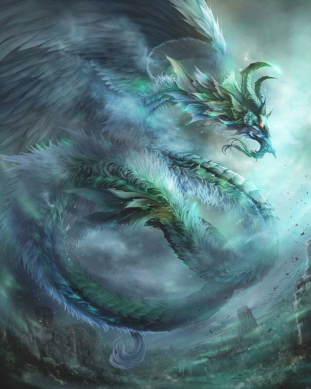 Feathery Dragon