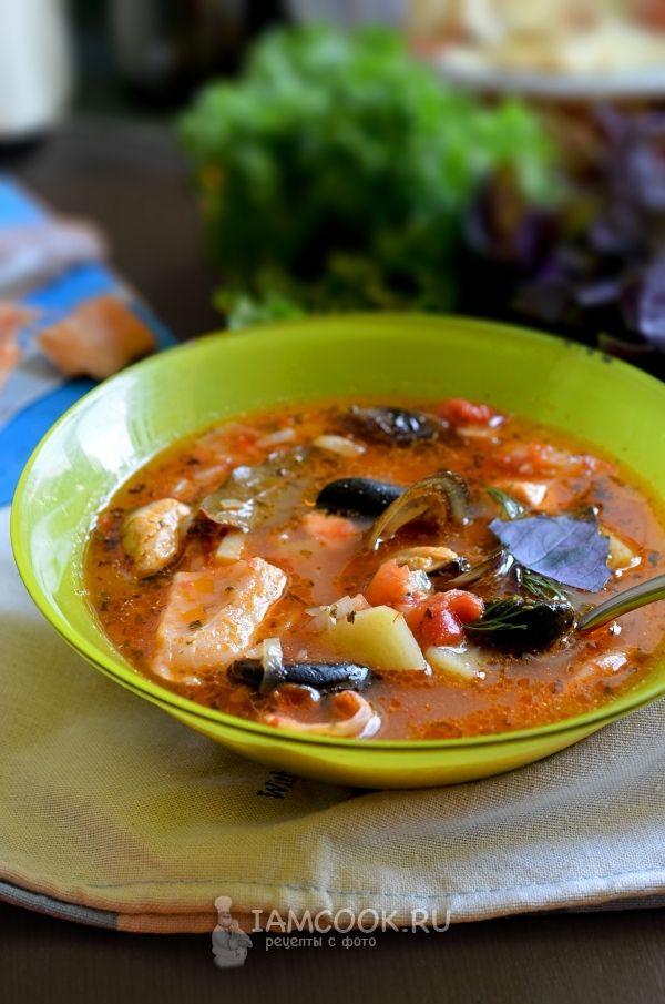 Рецепт супа «Буйабес»