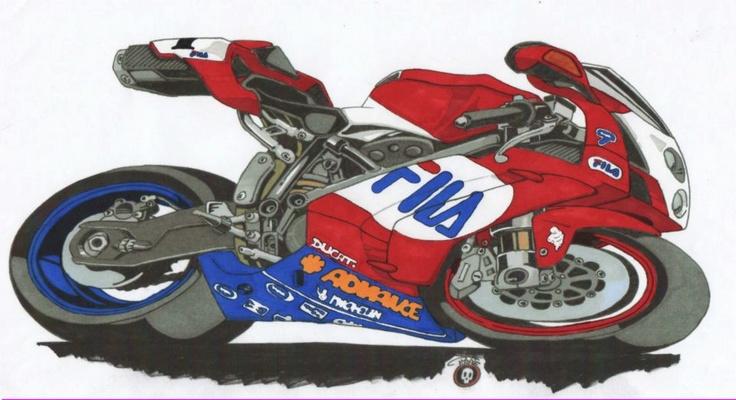 Motorcycle Art - Design By PiiraaT'