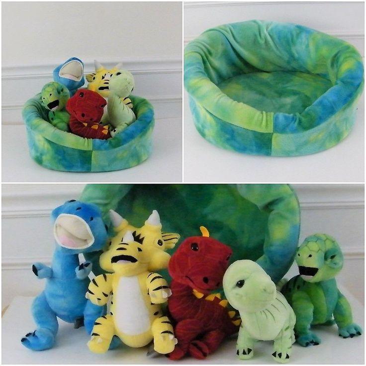 Melissa and Doug 5 Baby Dinos In A Nest Dinosaur Plush #2124 #MelissaDoug