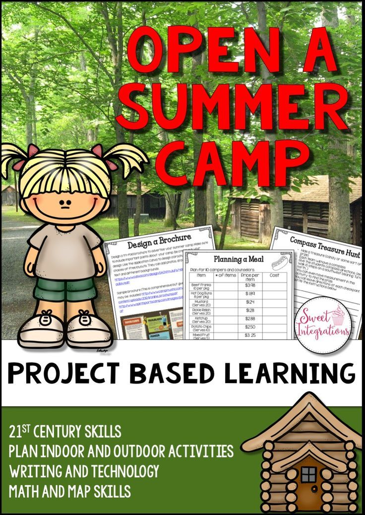 In this PBL unit, students will plan an overnight summer camp for children. In groups they'll decide on the theme of the camp and age of the campers. Will it focus on sports, music, art, horseback riding, etc? This pbl unit incorporates 21st Century Learning, differentiation, and curriculum objectives. $