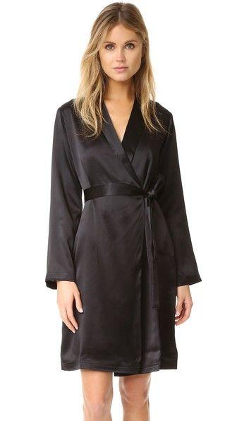 La Perla Silk Short Robe  $384.00