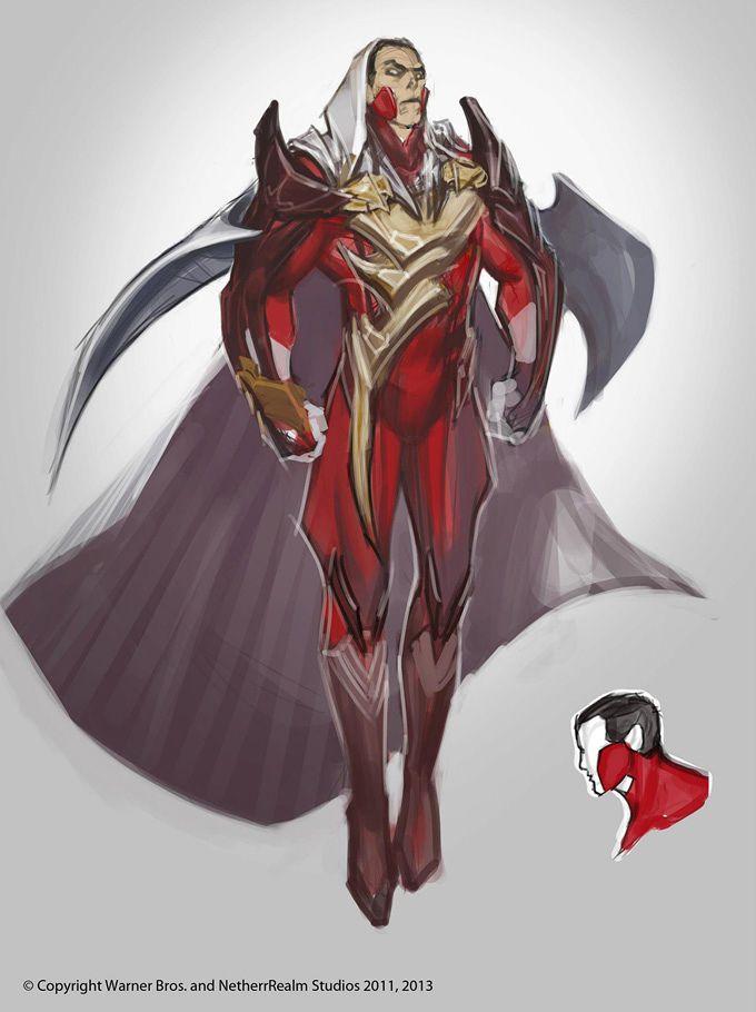Injustice Gods Among Us Concept Art What If The Flash Wonder Woman Aquaman