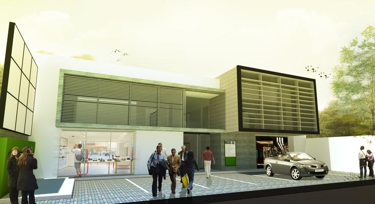 Oficinas Básico Arquitectura . Remodelación . 2012 . Querétaro . Mx