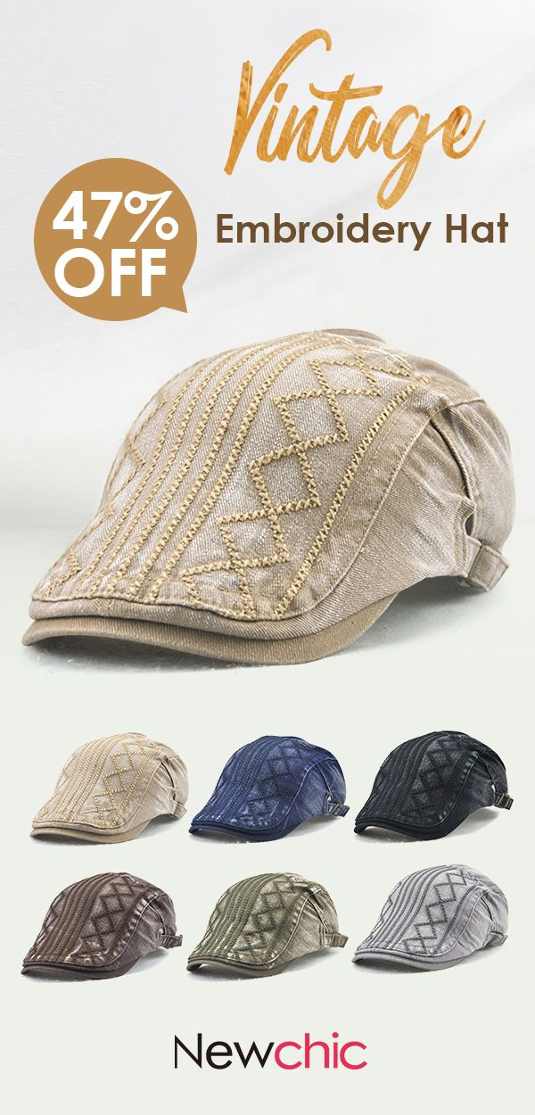 e6d858a8f4906 Men Vintage Soft Sunshade Cotton Beret Cap  outdoor  casual  cap ...