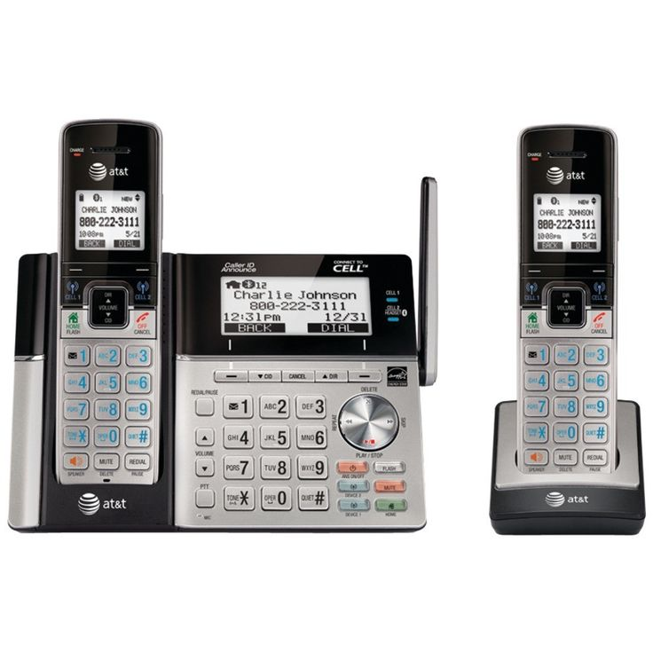Att Connect To Cell Answering System With Dual Caller Id (2 Handset)