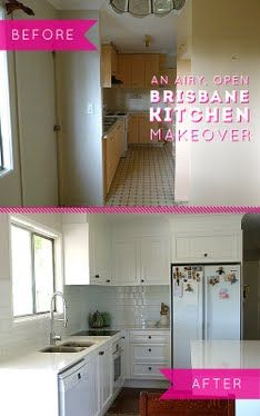 Great small kitchen remodel.  Nice!