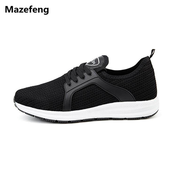 Mazefeng New Men Running Shoes Breathable Mesh Men Athletic Shoes Super Light Outdoor Women Sport Shoes