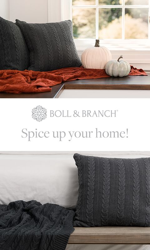 Our cable knit throws are just what your family needs to wrap themselves up in all sorts of fun fall festivities.