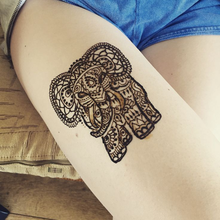 25 best ideas about henna elephant on pinterest henna elephant tattoos elephant tattoos and. Black Bedroom Furniture Sets. Home Design Ideas