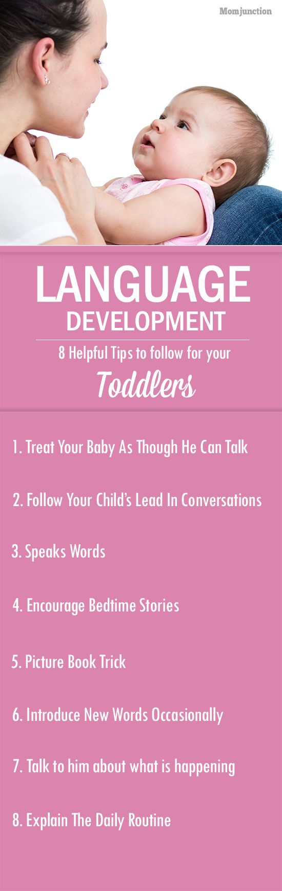 8 Helpful Language Development Tips For Your Children #Parenting