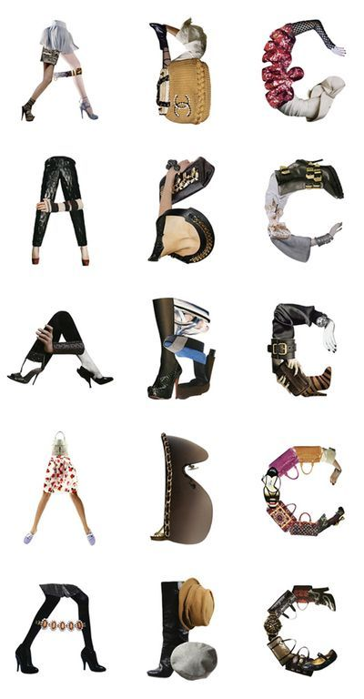 fashion fonts