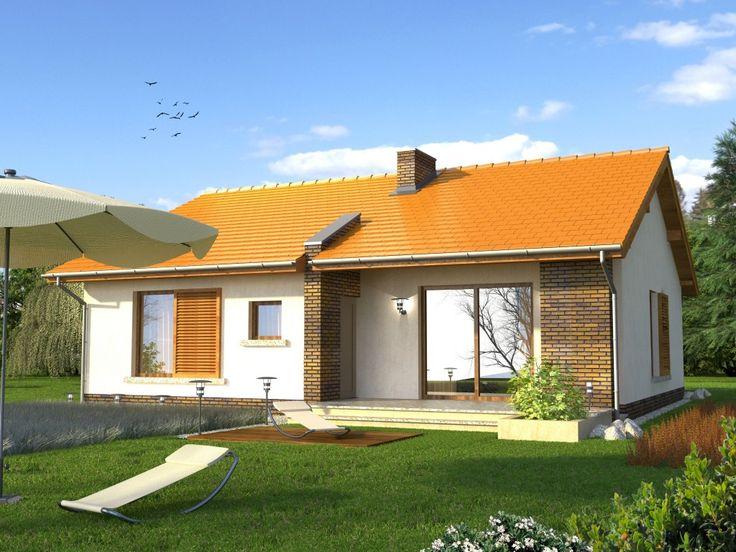 DOM.PL™ - Projekt domu KR Texas CE - DOM KR3-32 - gotowy projekt domu
