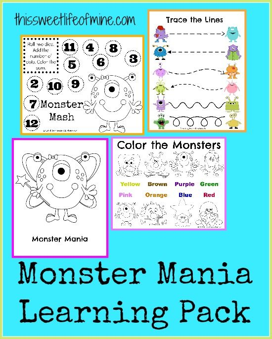 100+ best Unit Ideas: Monsters images by Katie @ Gift of Curiosity ...