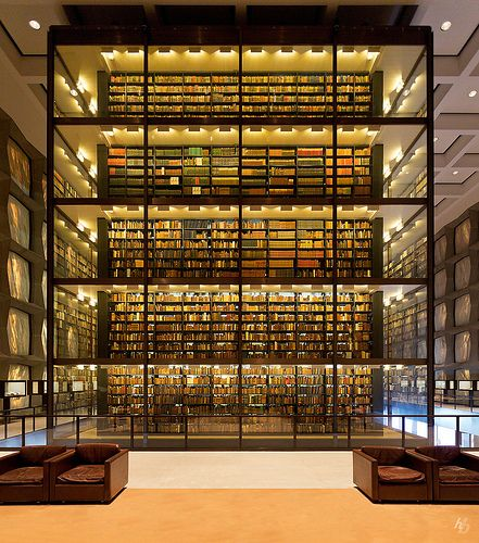 Beinecke Rare Book and Manuscript Library at Yale University (designed by Gordon Bunshaft of Skidmore, Owings, and Merrill)
