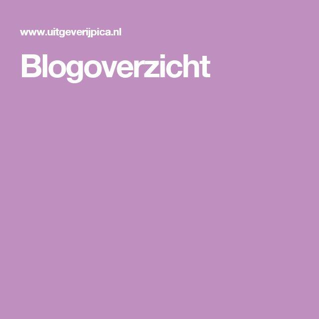Blogoverzicht