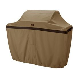 Classic Accessories Hickory Polyester 22.5-In Gas Grill Cover 55-041-0