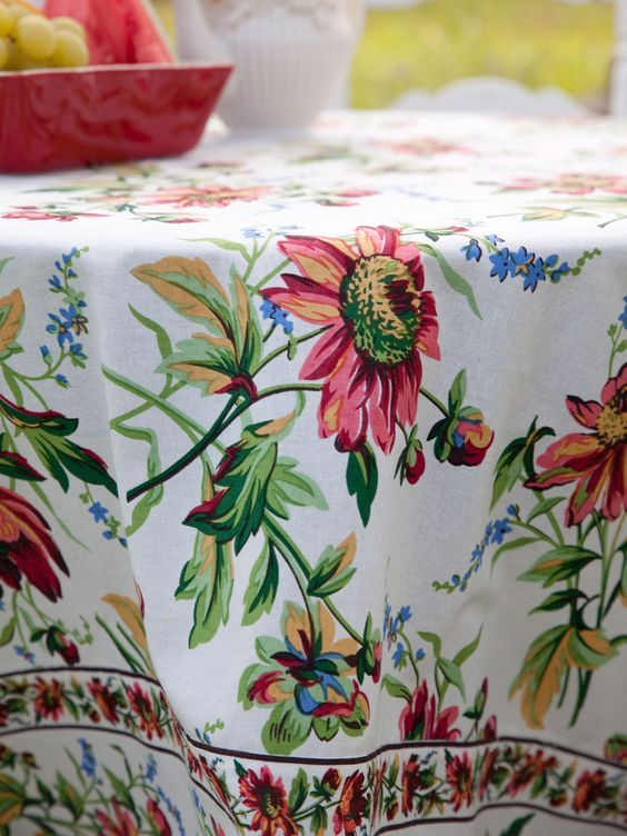 New 2016 April Cornell Tablecloths, Placemats, and More! Now available for you spring and summer entertaining! #saybrookcountrybarn