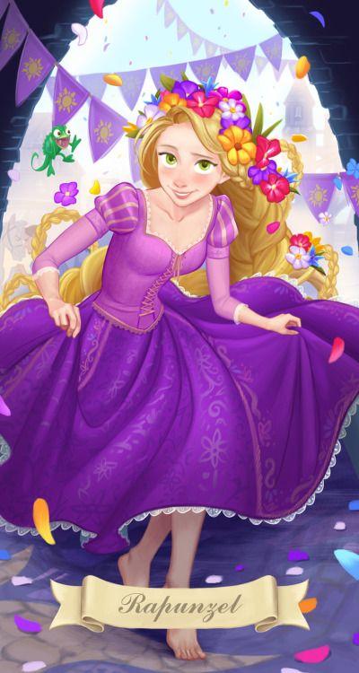 Rapunzel by Miacat