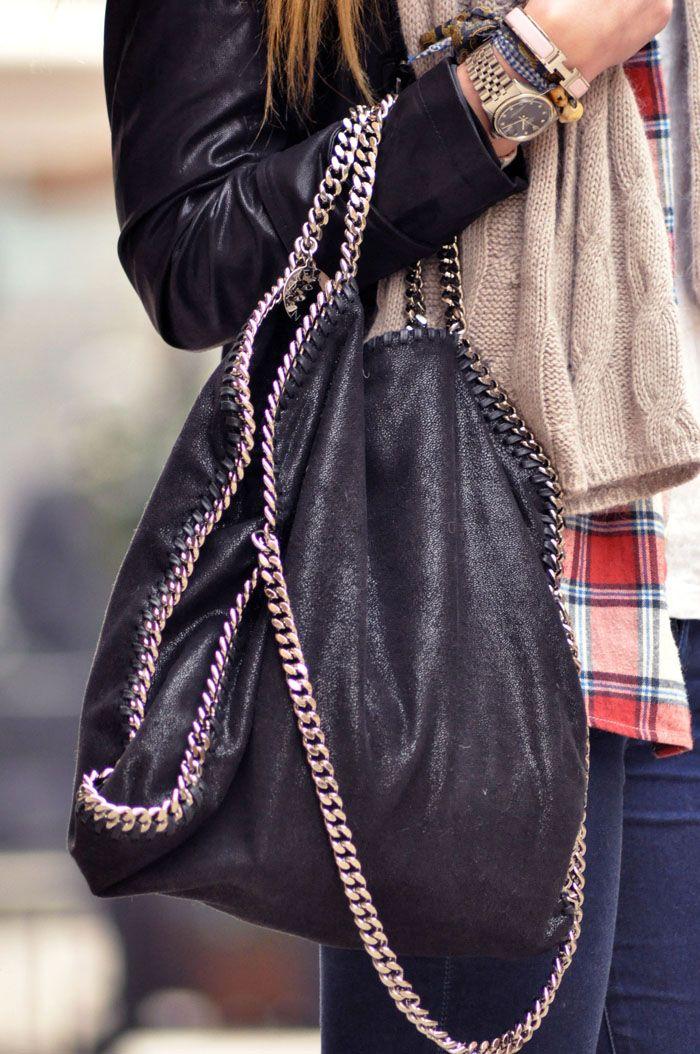 STELLA MCCARTNEY FALABELLA BAGFalabella Bag, Nice Bags, Fashion, Chains Bags, Style, Handbags, Stellamccartney, Stella Mccartney Bags, Leather Bags