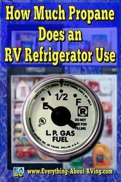 Here is our answer to: How Much Propane Does an RV Refrigerator Use? Running your RV's refrigerator on propane for 24 hours to get it cold will... Read More: Happy RVing! #rving #rv #camping #leisure #outdoors #rver #motorhome #travel