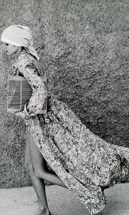 Photo by Arthur Elgort, 1974.