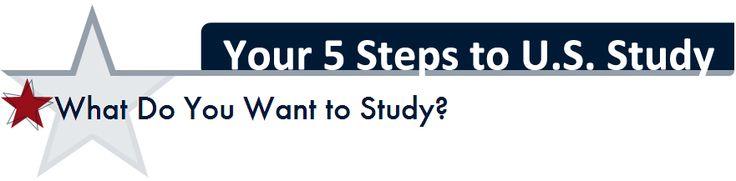 5 steps to U.S. study