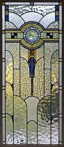 Art Deco Stained Glass in a Melbourne House